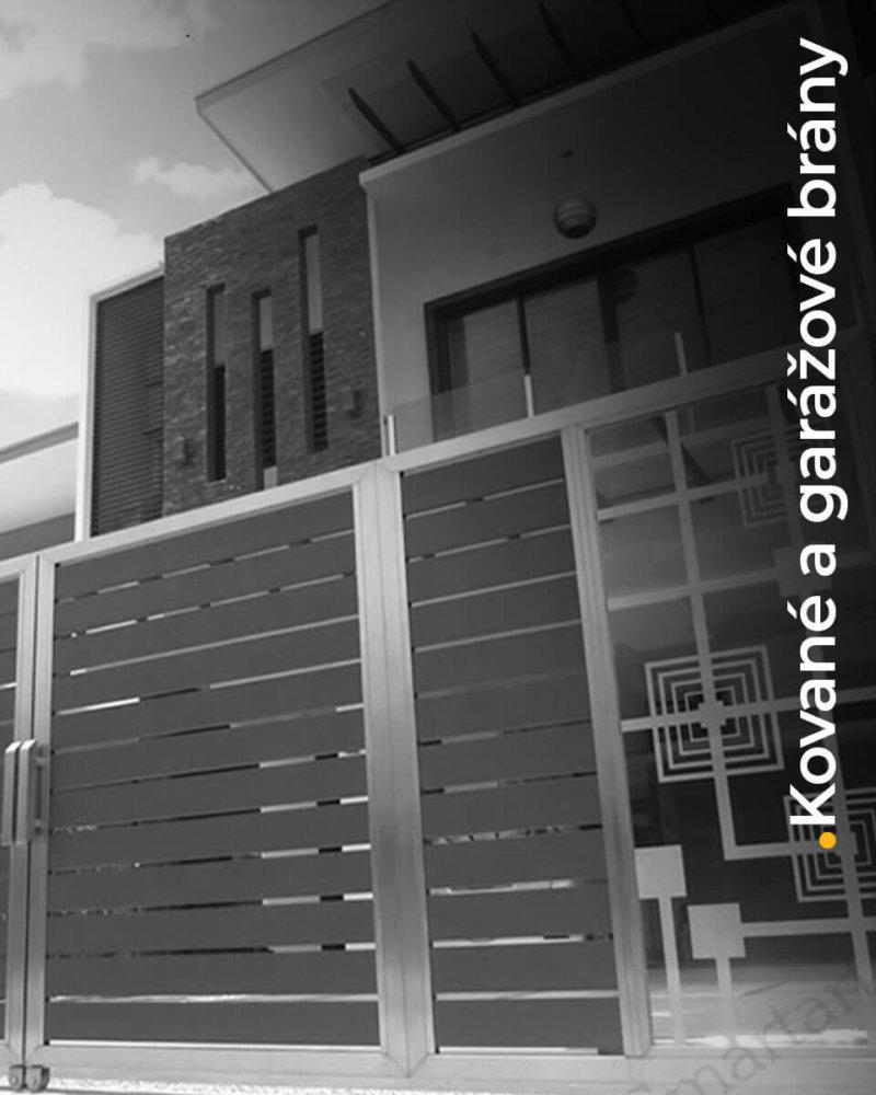 Kované a garážové brány